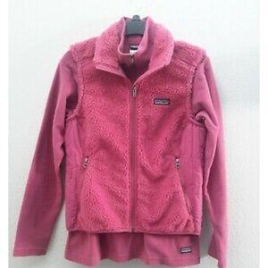 Patagonia pink sweater vest, size Medium